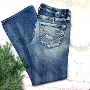 👖I•BIG🌟STAR•I Casey Boot Cut Jeans 28x28Short👖